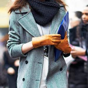Самые стильные перчатки и варежки